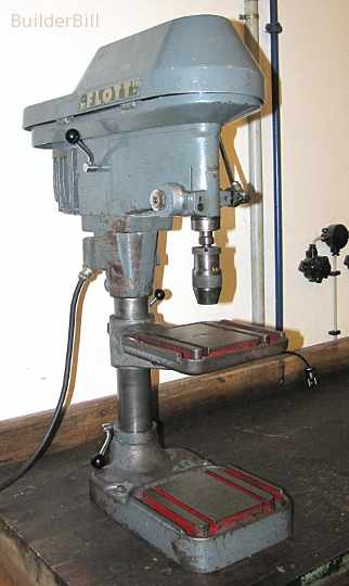 a good quality old drill press