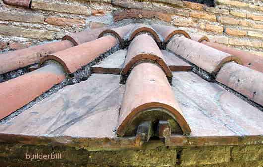 Ravenna roof tiles