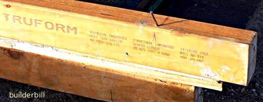 laminated softwood joist