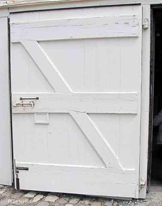 an extra wide batten door
