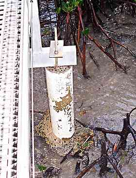 walkway deck support pillar