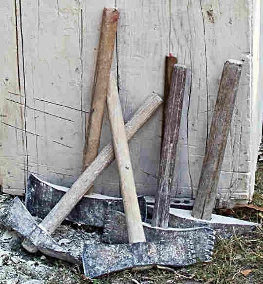masonry axes