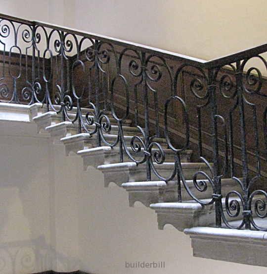 masonry stair