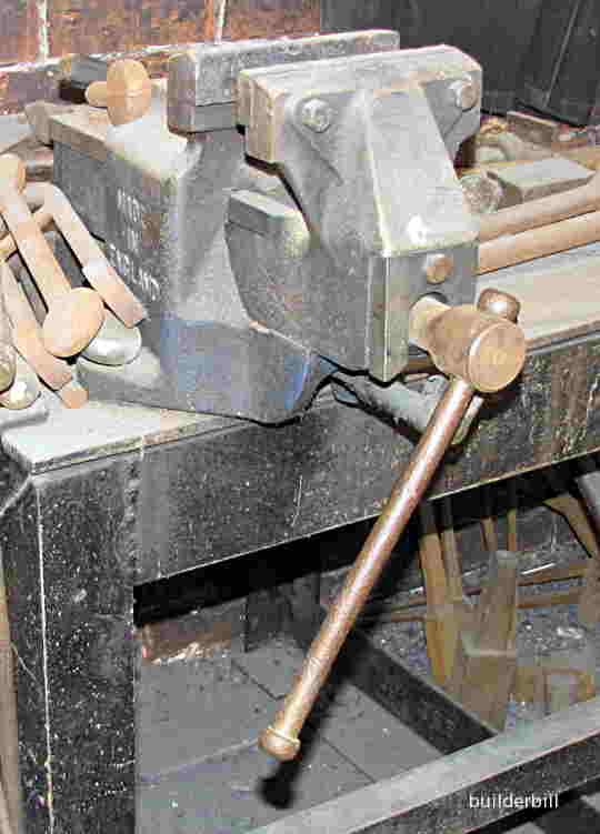 a mechanic's vise