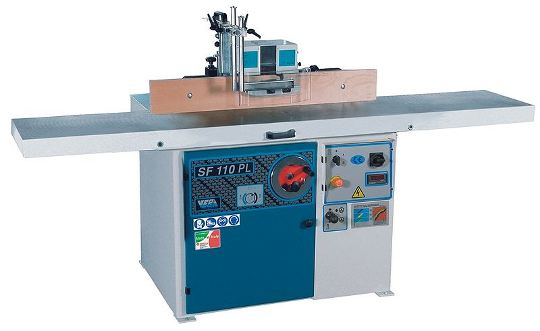 A modern spindle moulder or shaper