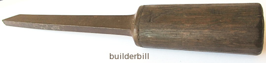 a mortise chisel