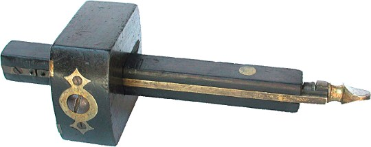 A typical mortice gauge