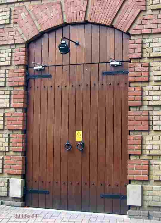 New batten doors