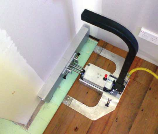 clamp in a confined space