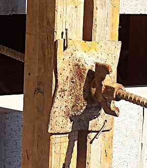 formwork through bolt, nut and washer