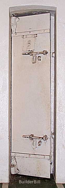 offset pivot door