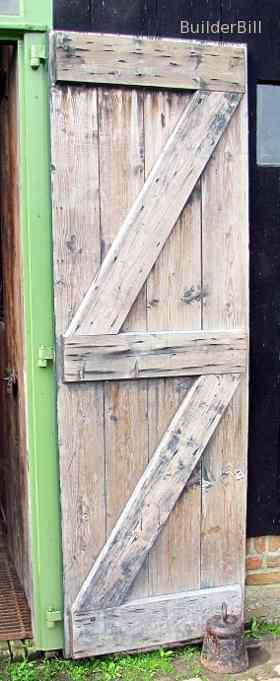 a braced batten door