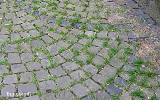 tradional stone cobbles