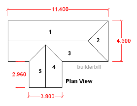 the basic roof in plan