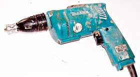 A mains power Makita drywall screwdriver.