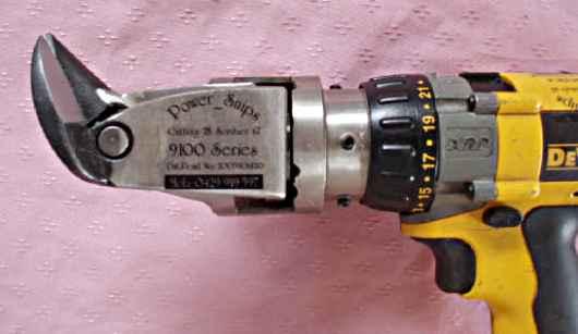 powered tin snips