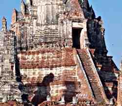 Ayayuthaya temple prang