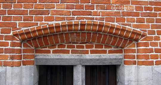 a brick relieving arch