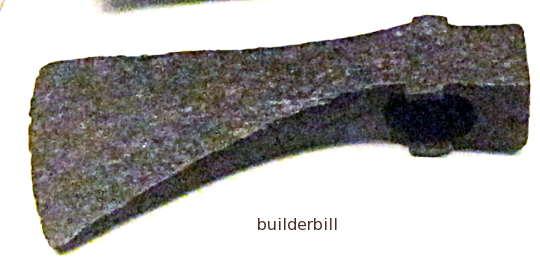a Roman axe head