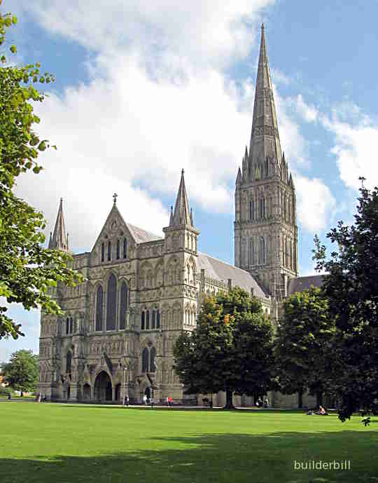 medieval masonry salisbury cathedral