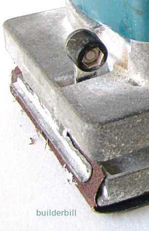 detail of clamping method
