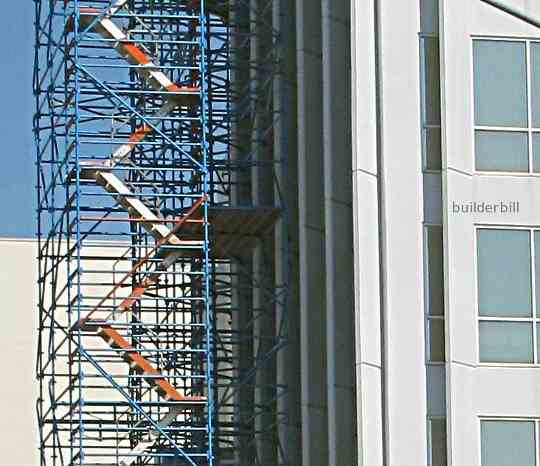 scaffold stair tower