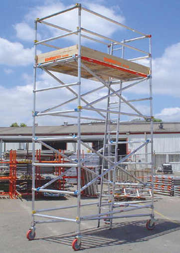 coates hire scaffold tower