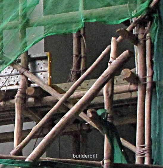 bamboo scaffold in Singapore