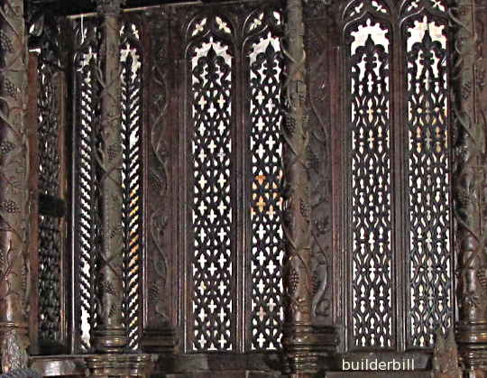 a fine example of medieval woodwork