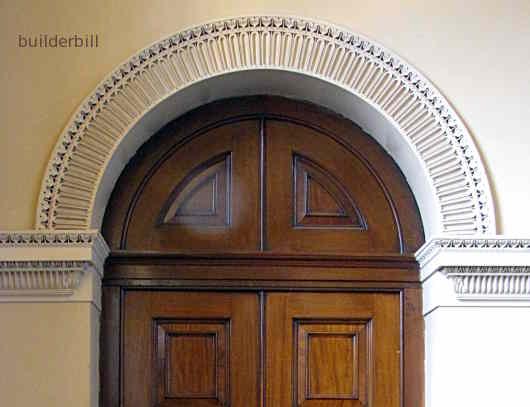 A semicircular arch