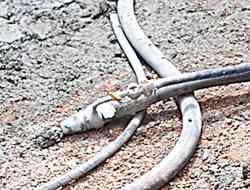 shotcrete concrete nozzle