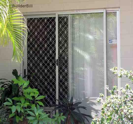 aluminium sliding screen door