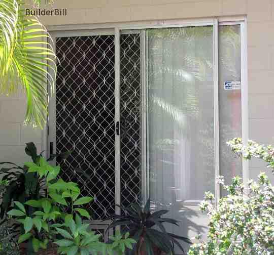 aluminium sliding screen door