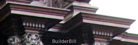 small dentil mouldings