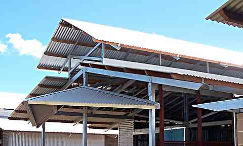 all steel troppo roof