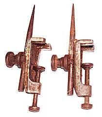 a pair of Eclipse trammel heads