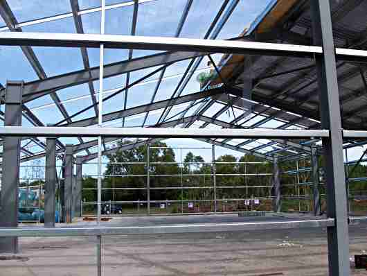 portal frame industrial building
