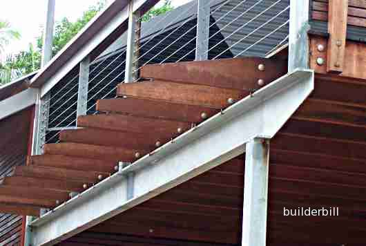 steel PFC deck beam