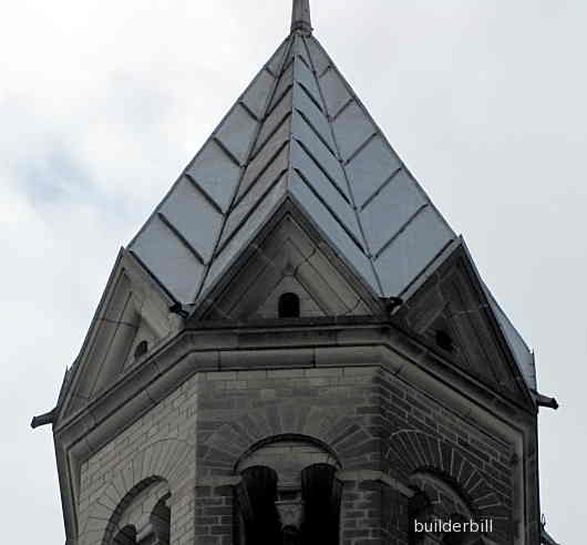 steeple roof in cologne germany