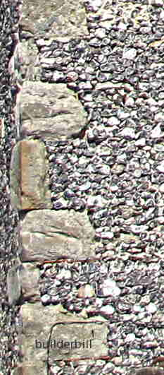 rubble quoins