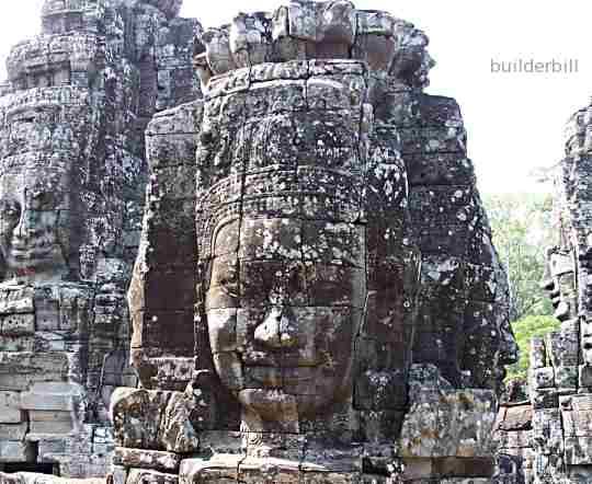 carved stonework angkor wat