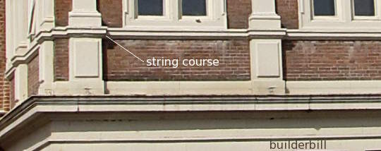 a small string course