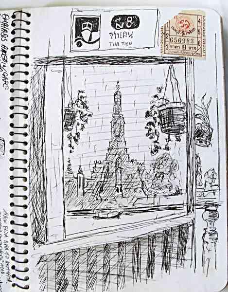 bangkok sketch