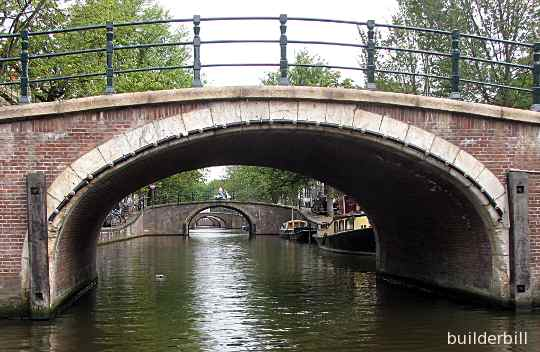three centre arches in amsterdam