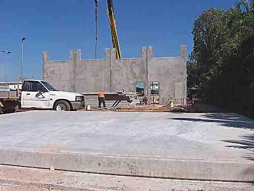 tilt slab concrete walls