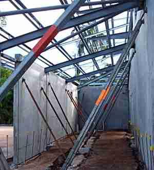 tilt wall roof