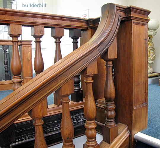 a handrail gooseneck