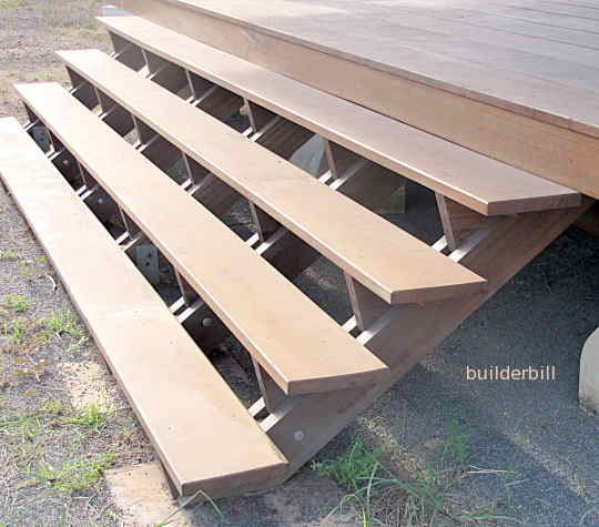 solid timber stair treads