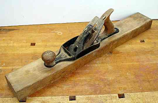 A transitional jointing plane