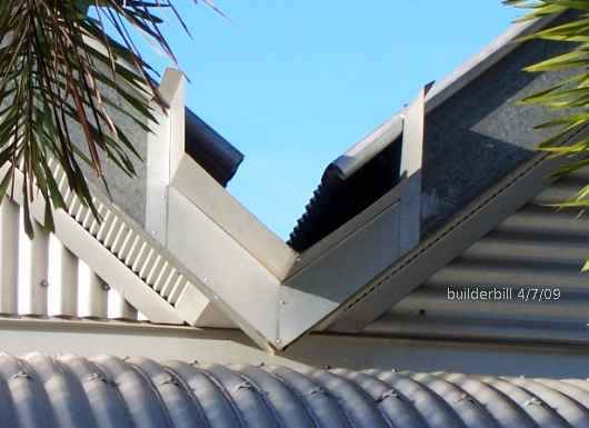Northern Australia vealley gutter